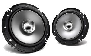 Full Range coaxial speakers