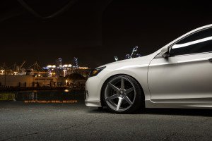 honda accord sc6 stance wheels front view