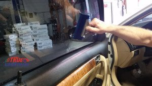 window tint cleaning squeegee
