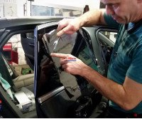 car window tinting cleaning solutions