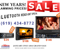 JANUARY 2016 BLUETOOTH STEREO BLOW OUT SALE! 2