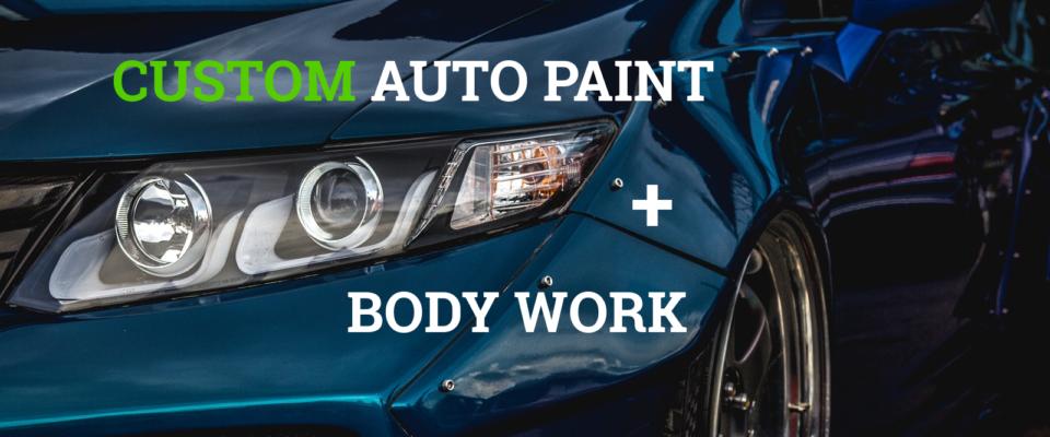 "<span class=""light"">custom</span> auto paint"